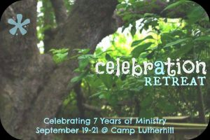 Click here to register for our Anniversary Retreat!