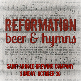 Reform beer and hymns 2016
